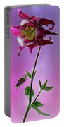Red Aquilegia 2 Portable Battery Charger