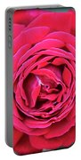 Red As A Rose  Portable Battery Charger