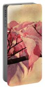 Red Autumn Day Portable Battery Charger