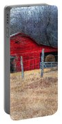 Red Barn A Long The Way Portable Battery Charger