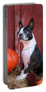 Red Barn Boston Portable Battery Charger