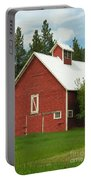 Red Barn Montana Portable Battery Charger