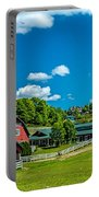 Red Barn On Hoyt Road Portable Battery Charger