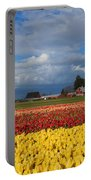 Red Barn Tulip Farm Portable Battery Charger