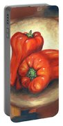 Red Bell Peppers Portable Battery Charger