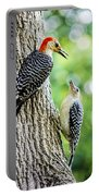 Red-bellied Woodpeckers Portable Battery Charger