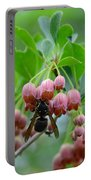 Red Bells And Wasp Portable Battery Charger