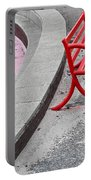 Red Bench Portable Battery Charger