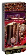 Red Bentley Convertible Portable Battery Charger