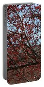 Red Berries In Tree Portable Battery Charger