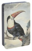 Red Billed Toucan, 1748  Portable Battery Charger