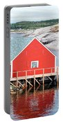 Red Boathouse Portable Battery Charger