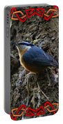 Red Breasted Nuthatch 2 Portable Battery Charger
