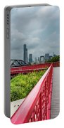 Red Bridge To Chicago Portable Battery Charger