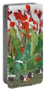 Red Canna  Portable Battery Charger