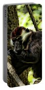 Red-capped Mangabey Portable Battery Charger