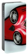 Red Car 007 Portable Battery Charger