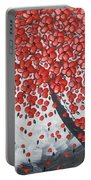 Red Cherry Tree Portable Battery Charger