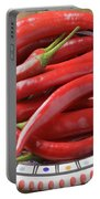 Red Chilis Portable Battery Charger