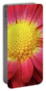 Red Chrysanthemum Portable Battery Charger