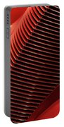 Red Classic Car Details Portable Battery Charger