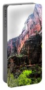 Red Cliffs Zion National Park Utah Usa Portable Battery Charger