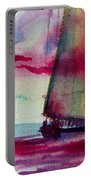 Red Cloud Sail Portable Battery Charger