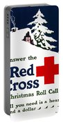 Red Cross Poster, C1915 Portable Battery Charger