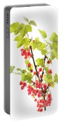 Red Currants Portable Battery Charger