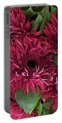 Red Daisies Bouquet Portable Battery Charger