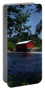 Red Dam In Summer #2 Portable Battery Charger