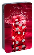 Red Dice Splash Portable Battery Charger