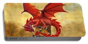 Red Dragon's Treasure Chest Portable Battery Charger