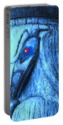Red Eyed Raven Portable Battery Charger