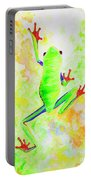 Red Eyed Tree Frog Portable Battery Charger