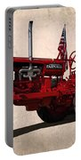 Red Farmall Tractor Portable Battery Charger