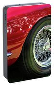 Red Ferrari Portable Battery Charger