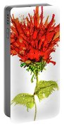 Red Flower 2 Portable Battery Charger