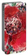 Red Flower, Portable Battery Charger