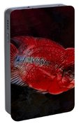 Red Flowerhorn Cichlid Portable Battery Charger