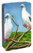 Red Footed Booby #255, Portable Battery Charger