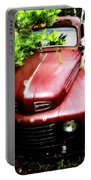 Red Ford Portable Battery Charger