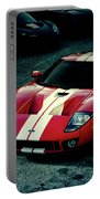 Red Ford Gt Portable Battery Charger