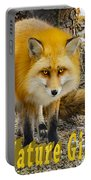 Red Fox Nature Girl Portable Battery Charger