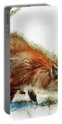 Red Fox Painted Series Portable Battery Charger