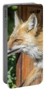 Red Fox Vixen On The Hunt Portable Battery Charger