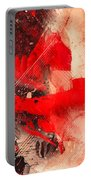 Red Gloves Portable Battery Charger by Svetlana Sewell