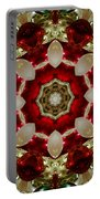Red Gold Green Kaleidoscope 2 Portable Battery Charger