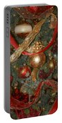 Red Gold Tree No 2 Fashions For Evergreens Event Hotel Roanoke 2009 Portable Battery Charger