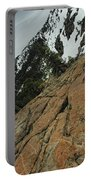 Red Granite Portable Battery Charger